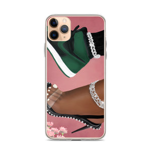She Can Do Both iPhone Case