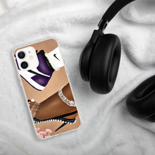 Load image into Gallery viewer, She Can Do Both GRAPE iPhone Case
