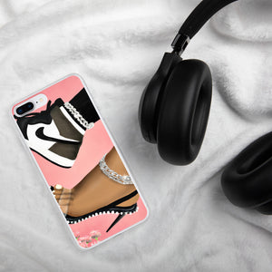 She Can Do Both MOCHA iPhone Case