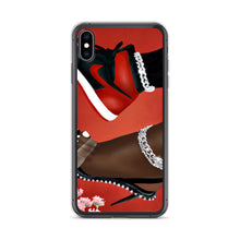 Load image into Gallery viewer, She Can Do Both RED iPhone Case