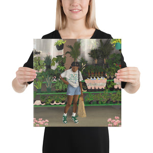 FLOWER SHOP Canvas