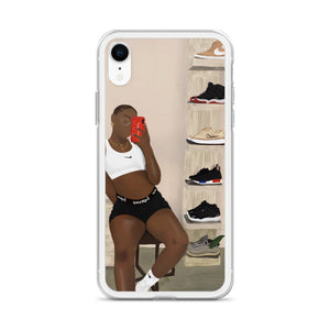 Sneaker Head iPhone Case