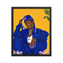 Load image into Gallery viewer, BLUEBERRY Framed poster