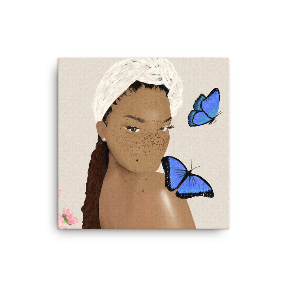 Save The Butterflies Canvas