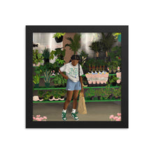 Load image into Gallery viewer, FLOWER SHOP Framed poster