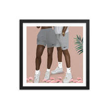 Load image into Gallery viewer, NIKE BAE Framed poster
