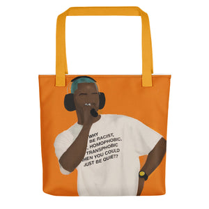 A Message From Frank Tote bag