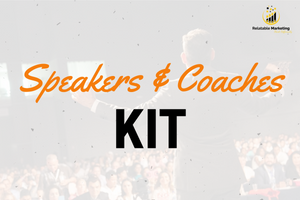 Speakers and Coaches Kit