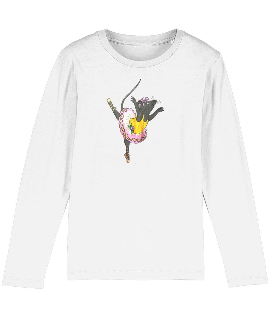 Petit Rat Long Sleeve Stanley/Stella Sassy-Girl