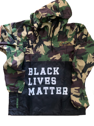 BLM Pullover Jacket (Hooded)