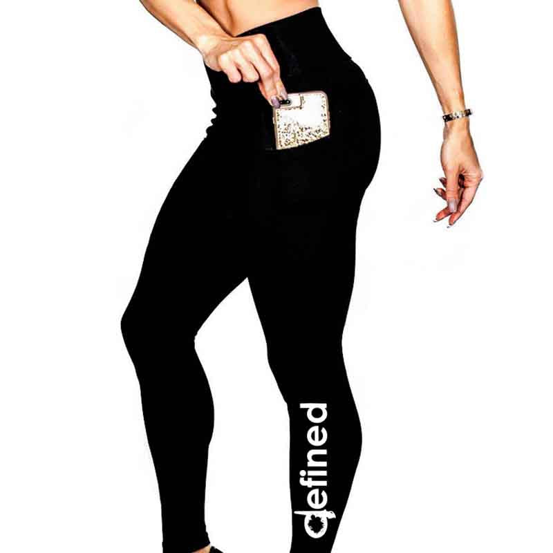 High Waist Workout Leggings w/Pockets
