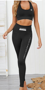Seamless Bra and Leggings Set (Your Life Matters)
