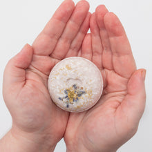 Load image into Gallery viewer, Lavender Chamomile Zero Waste Shampoo Bar