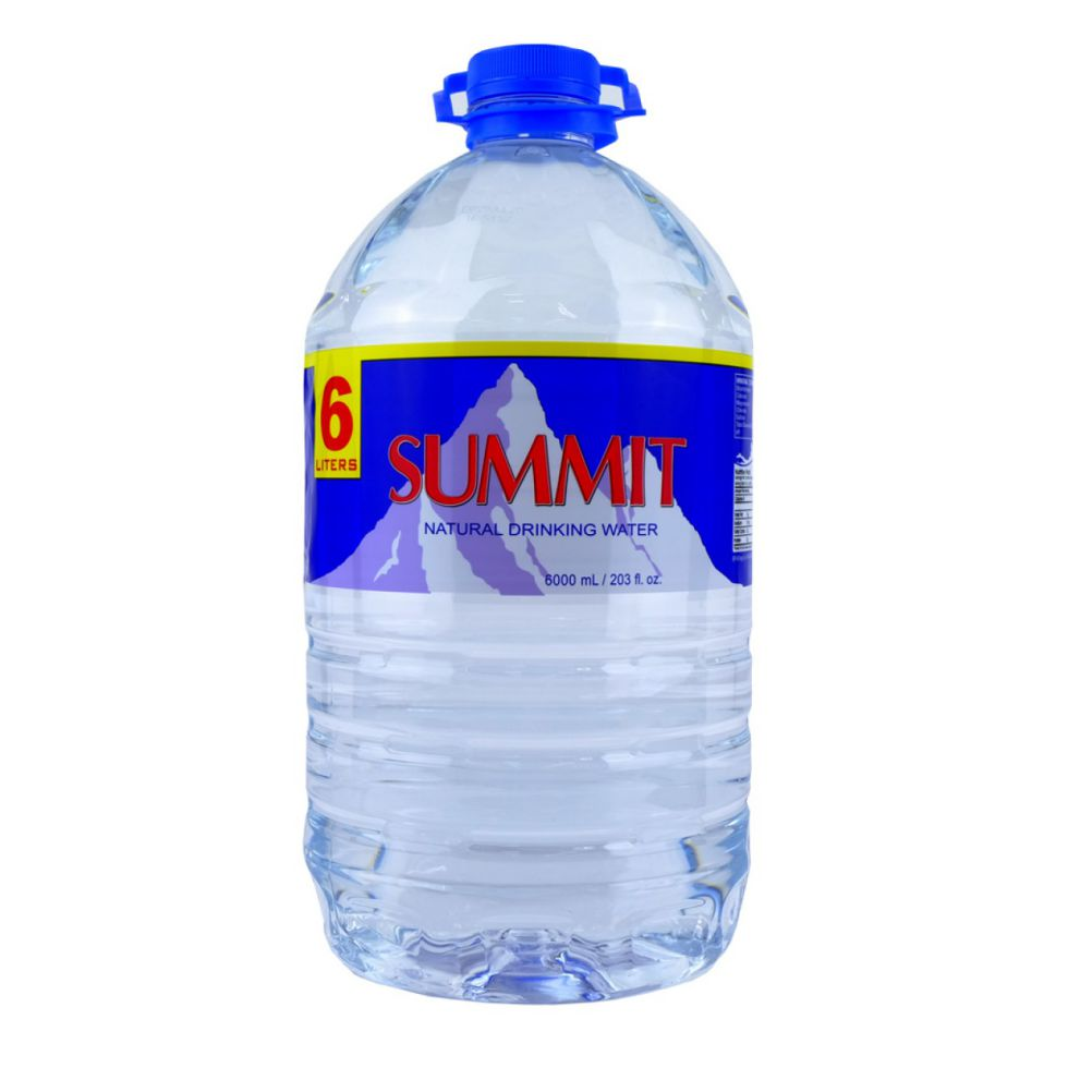 Summit Natural Drinking Water 6L