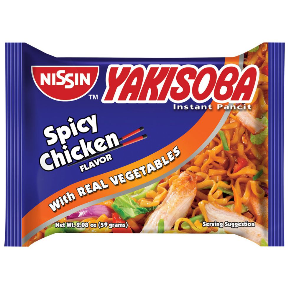 Nissin Yakisoba Pouch Spicy Chicken 59G