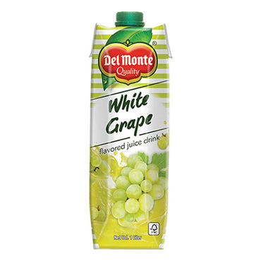 Del Monte Juice Drink White Grape 1L