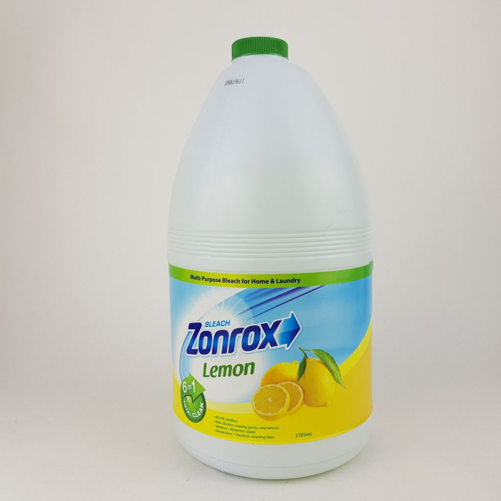 Zonrox Bleach Lemon 1Gal