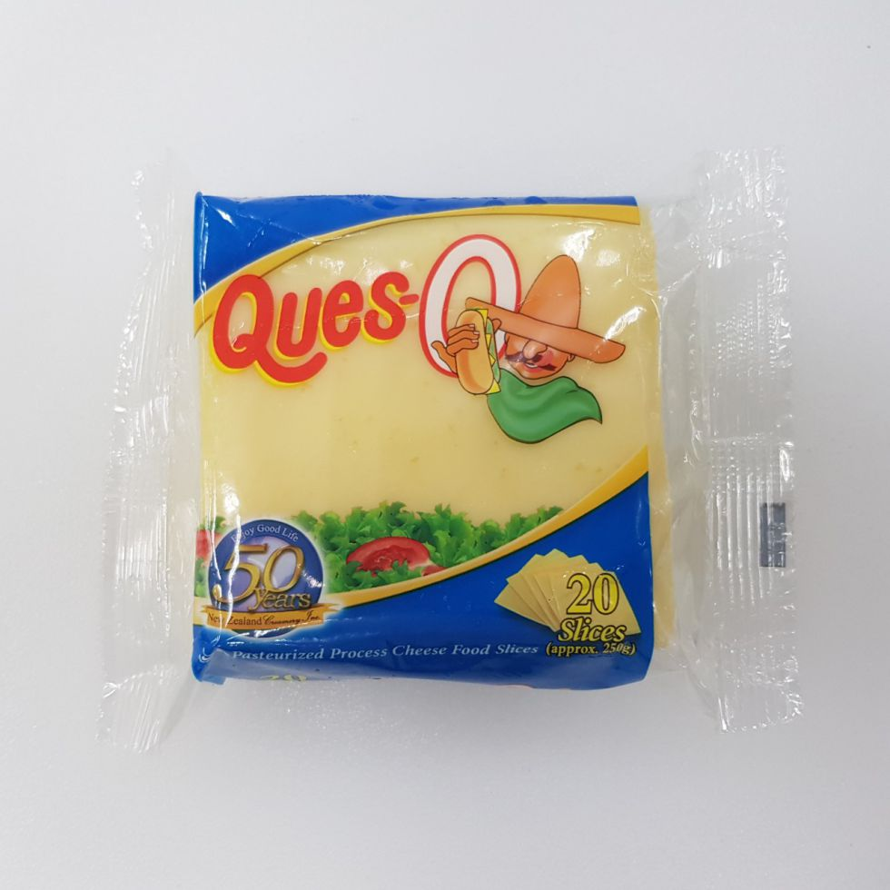 Ques-O Sliced Cheese 250G