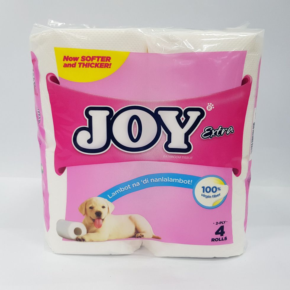 Joy T Extra 2 Ply 400Sheets 4S Bathroom Tissue 100Mm