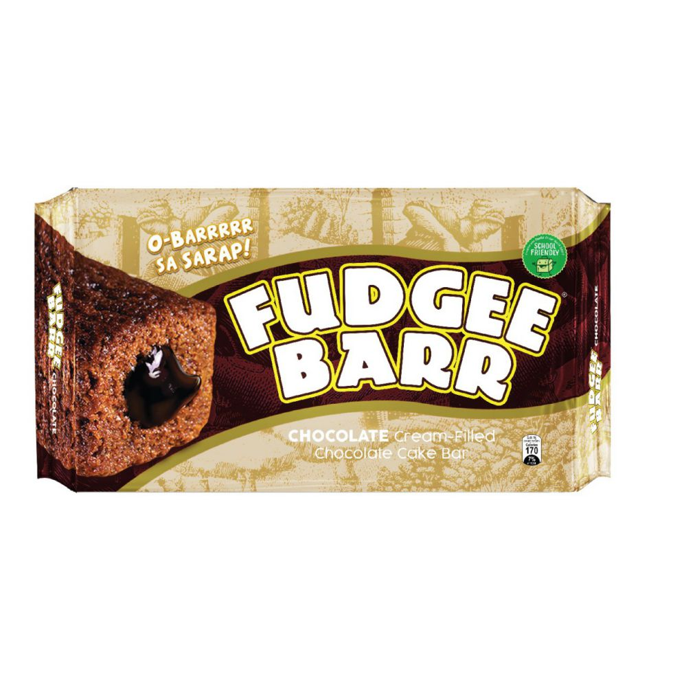 Fudgee Barr Chocolate 41Gx10Pcs