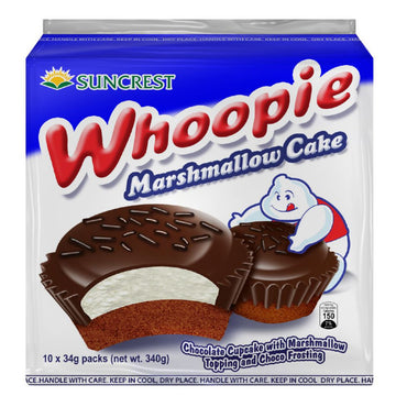 Whoopie Marshmallow Chocolate 35Gx10pcs