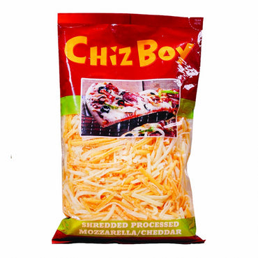 Chiz Boy Shredded Cheese Mozzarella/Cheddar 350G