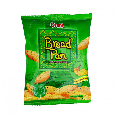 Oishi Bread Pan Savoury Toasted Bread Cheese & Oinion Flavor