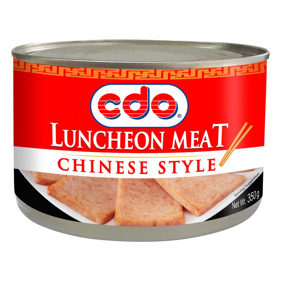 Cdo Luncheon Meat Chinese Style 350G
