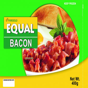 Puregold Equal Frozen Bacon Classic 400G