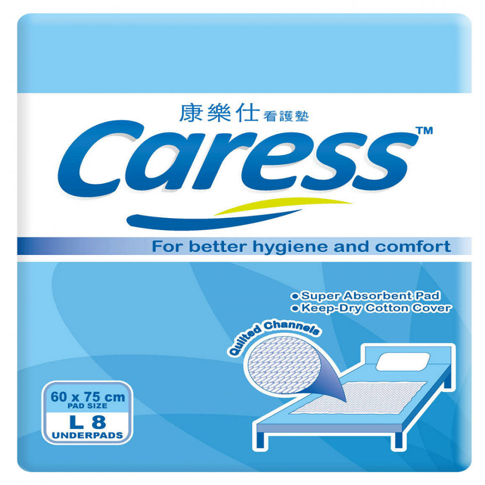 Caress Underpads 8S Large