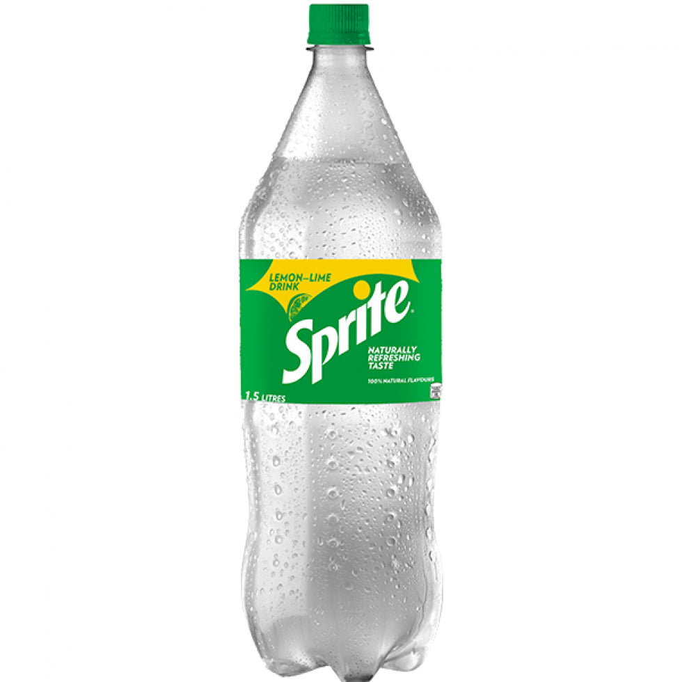 Sprite Carbonated Drink Lemon Lime 1.5L