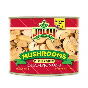 Jolly Mushrooms Pieces & Stems 198 g