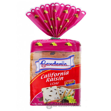 Gardenia California Raisin Loaf 400G