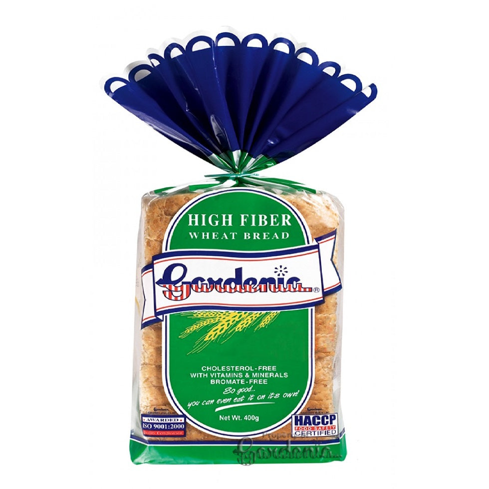 Gardenia High Fiber Wheat Bread 400G