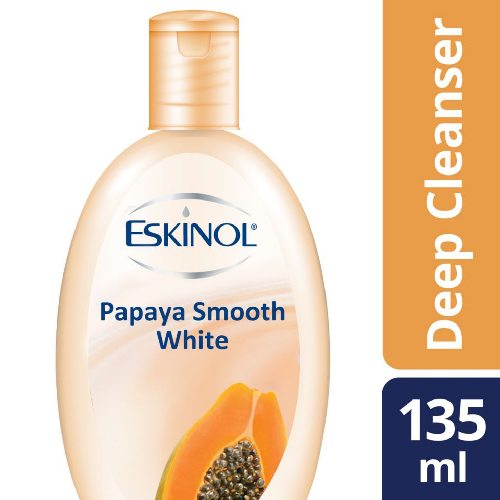 Eskinol Cleanser Papaya Smooth White 135Ml