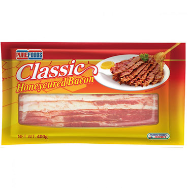 Purefoods Honeycured Bacon Classic 400 g