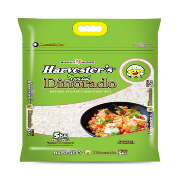 Harvester's Dinorado Rice 5kg