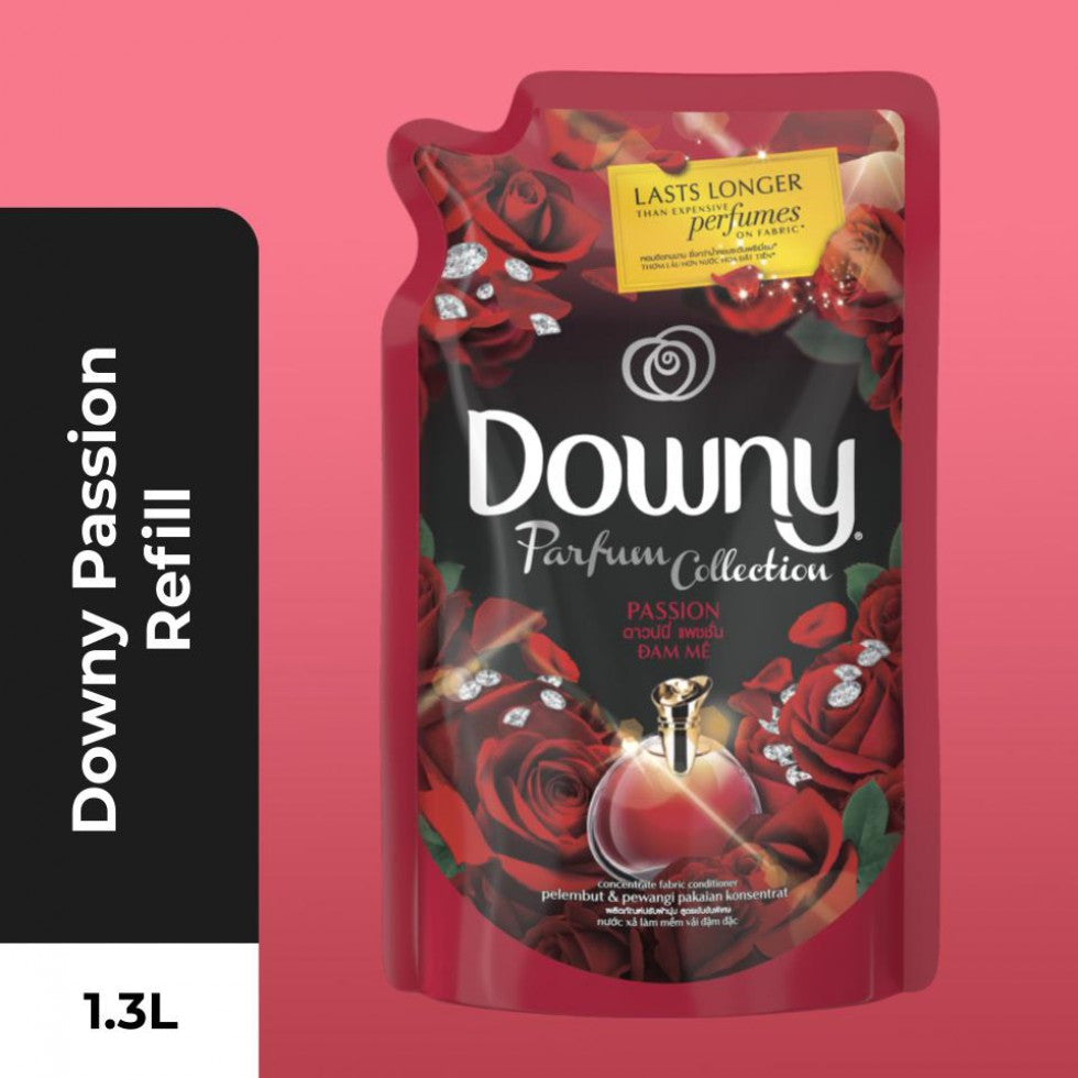 Downy Fabric Conditioner Refill Passion [[Fabric Softener] 1.3L