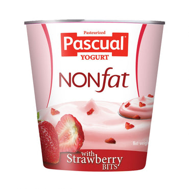 Pascual Creamy Delight Non Fat Yogurt Strawberry 100G