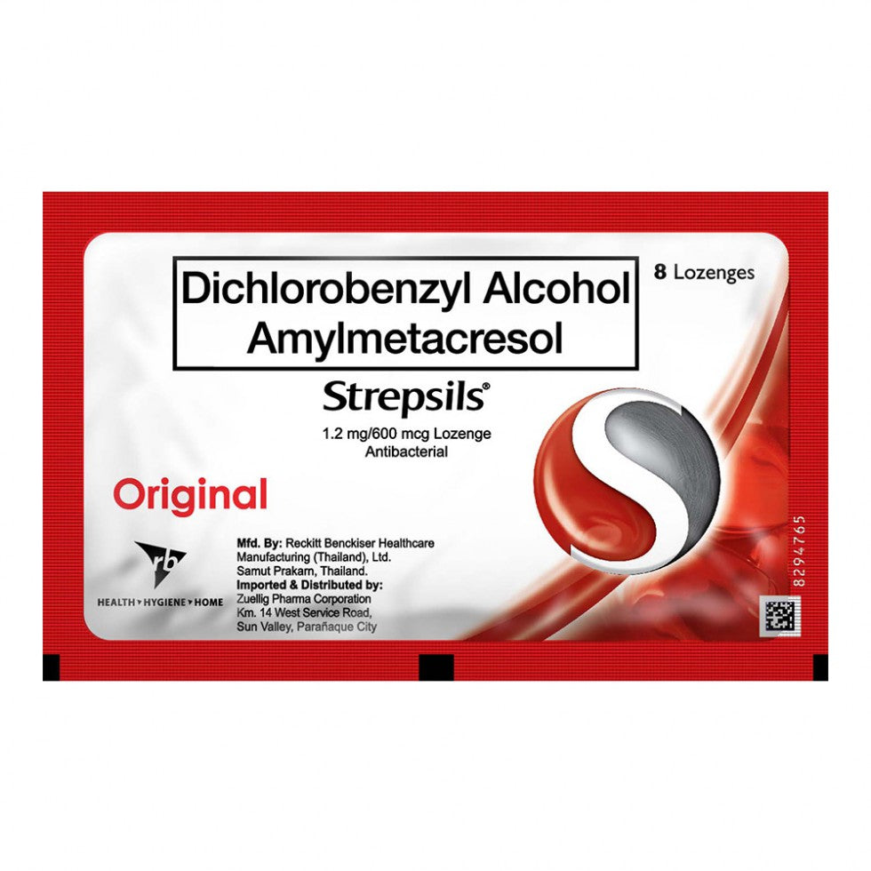 Strepsils Original 8 Lozenges