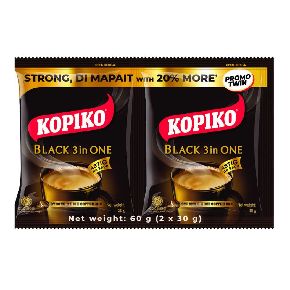 Kopiko Black 3-in-1 60G x 10 Pack