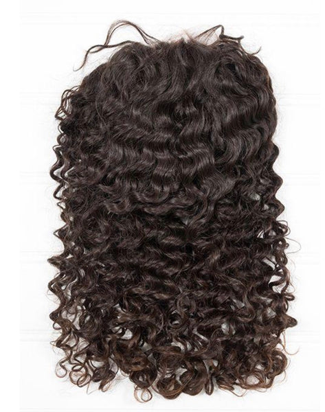 Brazilian Deep Wave Full Lace Wig