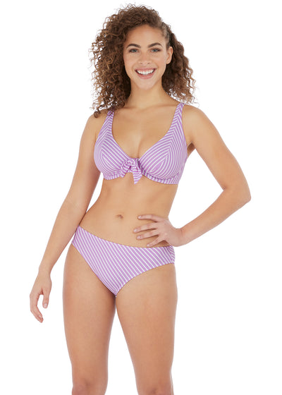 Beach Hut Underwire High Apex Bikini Top