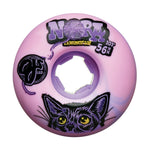 OJ Ruote Elite EZ Edge Nora Vasconcellos Pink Purple Swirl 56mm 101A