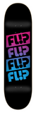 Flip Skate Team Quattro Faded Black 8.0″