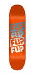 Flip Tavola Team Quattro Faded Orange 8.45""