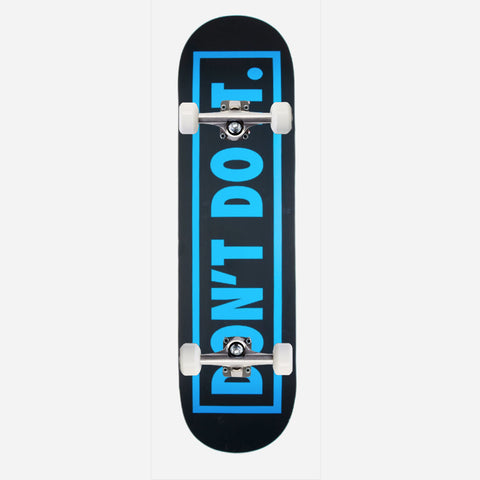 Consolidated Skate Don't Do It Blue 8.5""