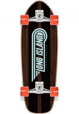 Long Island Surfskate Ebony 29.5""