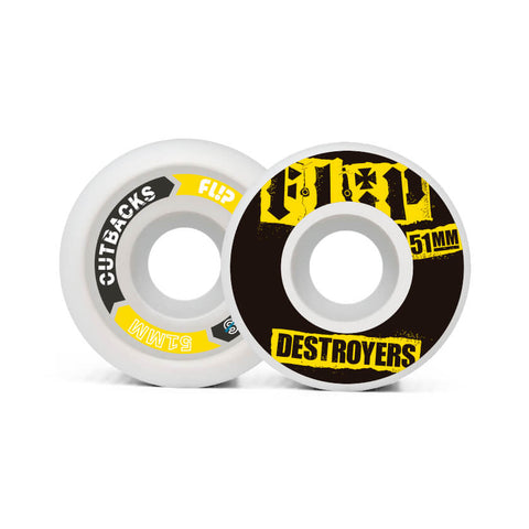 Flip Ruote Cutback Destroyers 51mm 99a Black