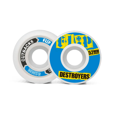 Flip Ruote Cutback Destroyers 52mm 99a Blue